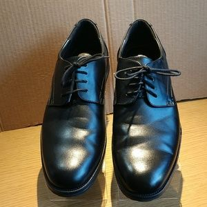 VanHeusen Black Oxford Shoes Sz 12 M d8069424a27